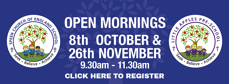 speen school open mornings